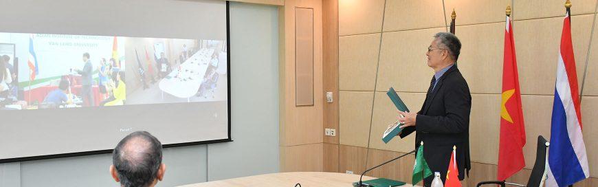 Virtual MoU Signing: New Strategic Partnership with Vietnam's Van Lang University