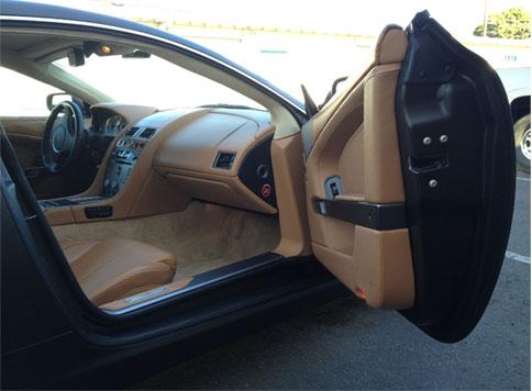Aston Martin Matte Black Wrap