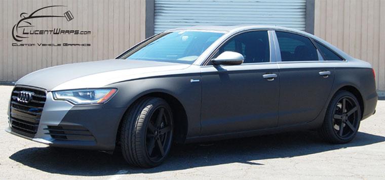 car wraps, vehicle wraps, color change wrap, custom wraps, matte black, matte silver