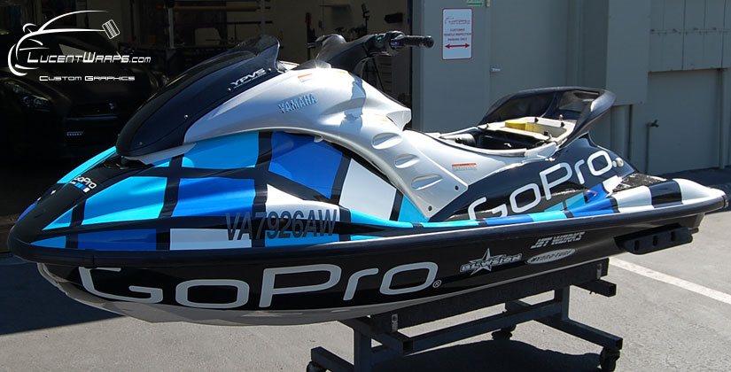 sea-doo wrap, jet ski wrap, water craft wrap