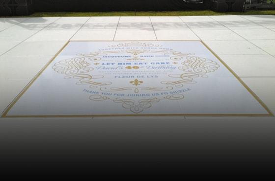 floor graphics Costa Mesa