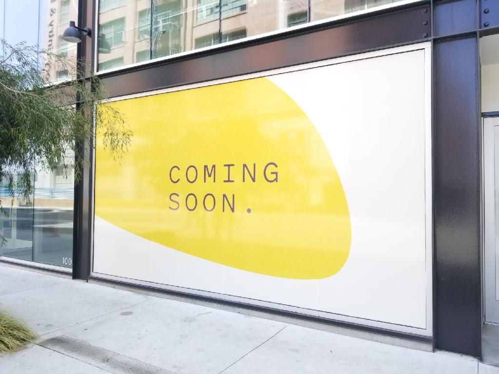 window wraps, window decals, store front, window graphics, coming soon, bakery