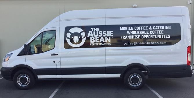 partial wrap, car wrap, van wrap, vehicle graphics, fleet graphic