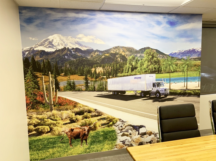 wall wrap, wall graphic, wall mural, wall decal, wall decor, wallpaper