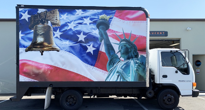 truck wrap, fleet graphics, box truck wrap, van wrap, car wrap, vehicle graphics