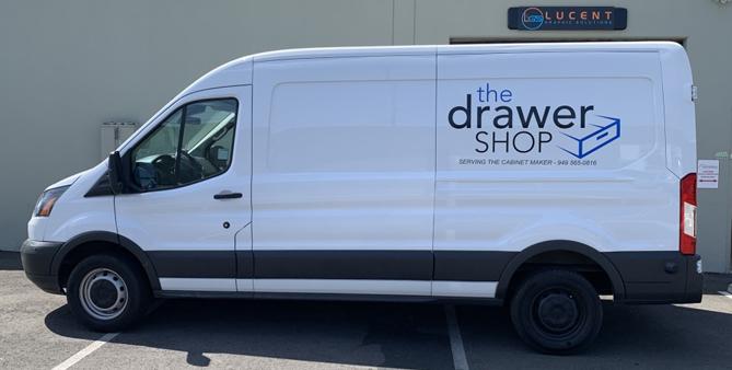 car wrap, partial wrap, vehicle wrap, van wrap, van decals, vehicle decals, car decals,