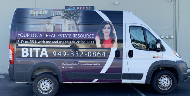 partial wrap, van wrap, commercial wrap