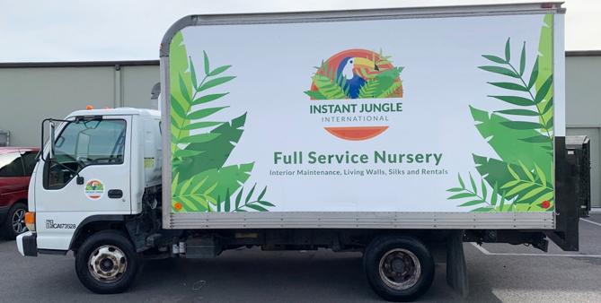 box truck wrap, box truck graphics, fleet graphics