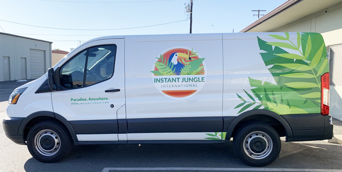 van wraps, fleet graphics,