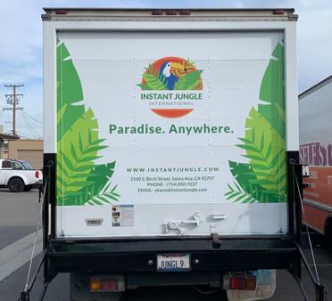 box truck wrap, fleet graphics, car wraps