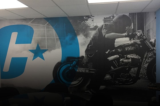custom wall wraps Tustin orange county oc