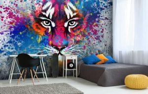wall wrap, wall mural, wall decal, wall decor