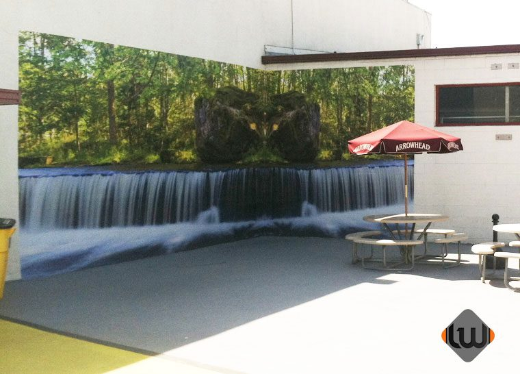 wall wrap, wall mural, wall graphics, wall decor