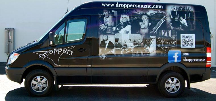 partial wrap, van wrap, car wraps, vehicle graphics