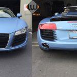 car wraps, vehicle wraps, color change wrap, custom wraps, powder blue