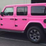 car wrap, car wraps, color change, custom wrap, pink wrap, paint is dead, custom wrap