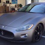 charcoal wrap, exotic wraps, Maserati wrap, color change wrap
