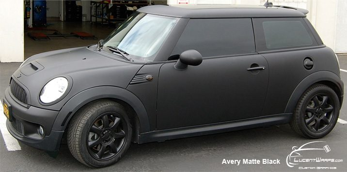 car wraps, vehicle wraps, color change wrap, custom wraps, matte black wrap