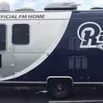 trailer wrap, trailer graphics, trailer decals, Rams trailer