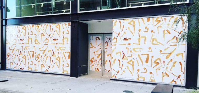window wraps, window graphics, window decals, store front