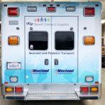 partial wrap, car wrap, vehicle wraps, vehicle graphics, ambulance wrap, ems graphcis