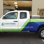 partial wrap, car wrap, vehicle wrap, fleet graphic