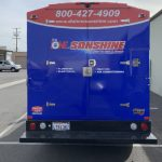 van wrap, vehicle graphics, car wrap, partial wrap, car decals, box truck wrap, plumbing wrap