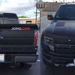 truck wrap, car wrap, vehicle wrap, color change, matte black wrap