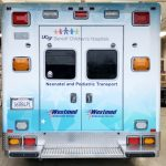 partial wrap, car wrap, vehicle wraps, vehicle graphics, ambulance wrap, ems graphcis