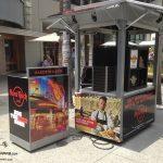 kiosk wraps, kiosk graphics