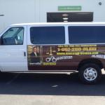 car wrap, vehicle graphics, digital print wrap, vehicle wrap, fleet graphics, van wrap, partial wrap