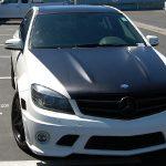 car wraps, vehicle wraps, color change wrap, custom wraps, hood wrap, roof wrap, satin black wrap