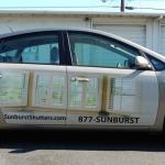 partial wrap, vehicle graphics, car wrap