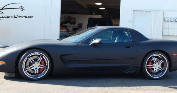 car wraps, vehicle wraps, color change wrap, custom wraps, matte black