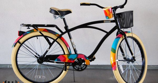 bicycle wrap, bicycle graphics, bicycle decals