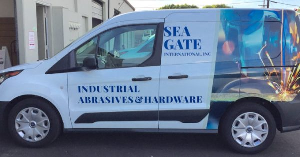 partial wrap, car wrap, vehicle wrap, vehicle graphic, fleet graphic, vehicle decal