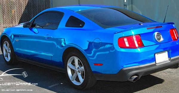 car wraps, vehicle wraps, color change wrap, custom wraps, blue chrome