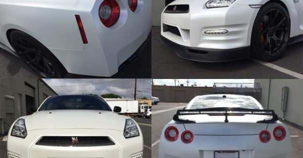 car wrap, color change, custom wrap, satin pearl wrap, car wraps, GTR, Nissan GTR