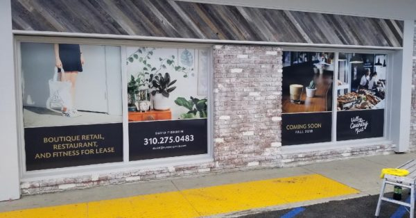 window wrap, window graphics, window decals, store front