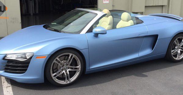 car wraps, vehicle wraps, color change wrap, custom wraps, powder blue wrap