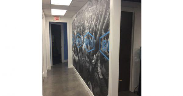 wall wrap, wall mural, wall decal, wall graphic