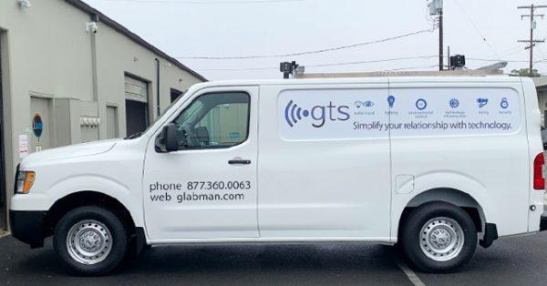 partial wrap, fleet graphics, van wrap