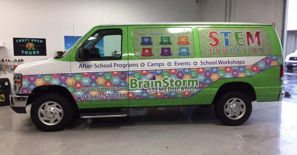 van wrap, car wrap, vehicle wrap, vehicle graphics