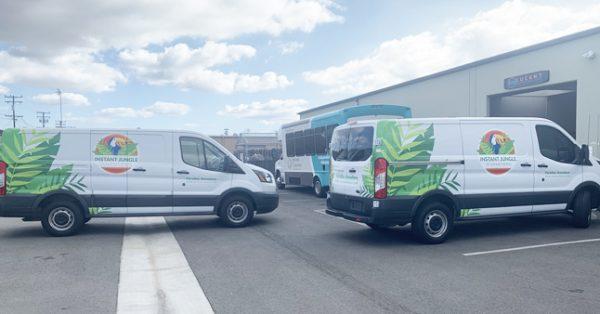 fleet graphics, van wraps, decals, van graphics