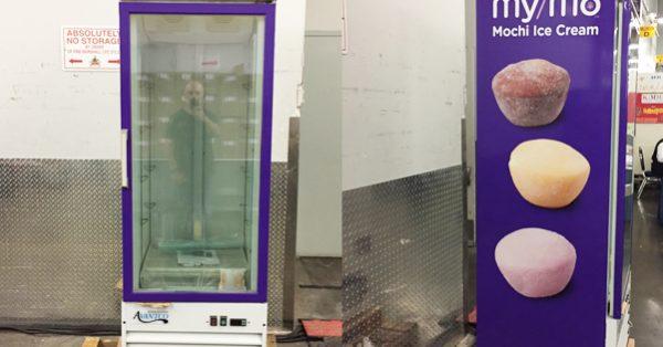 freezer wrap, fridge wrap, freezer graphics