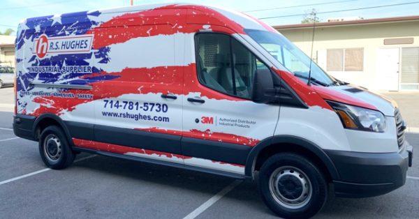 van wrap, car wraps, fleet graphics