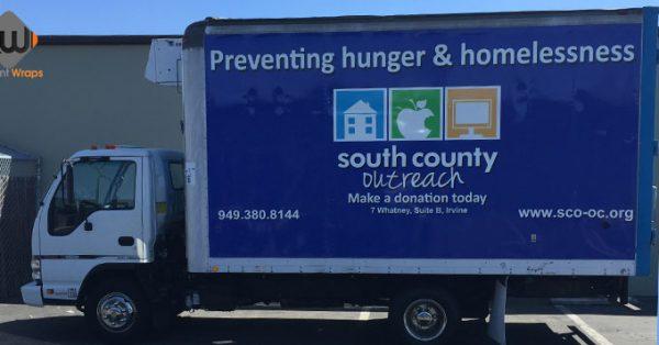box truck wrap, truck wrap, delivery van wrap
