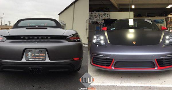 car wraps, vehicle wraps, color change wrap, custom wraps, matte gray