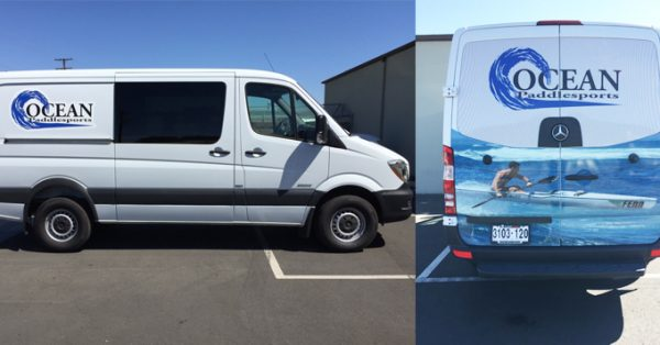 van wrap, partial wrap, partial van wrap, vehicle decals, fleet graphics
