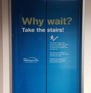 elevator wraps, elevator door wrap, elevator graphics